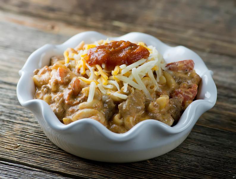 bowl of taco pasta