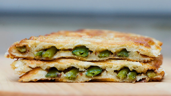 Asparagus Grilled Cheese