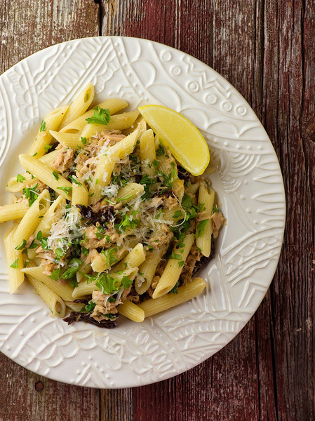 Penne with Tuna and Sundried Tomatoes