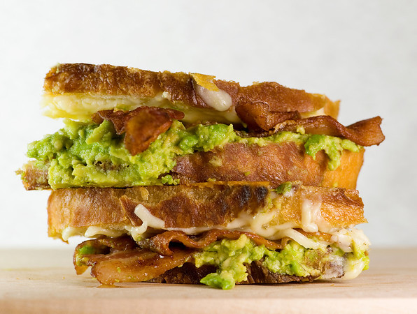 Grilled Cheese with Bacon and Avocado