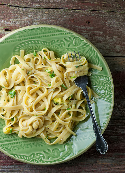 Pasta with Buttered Egg Sauce