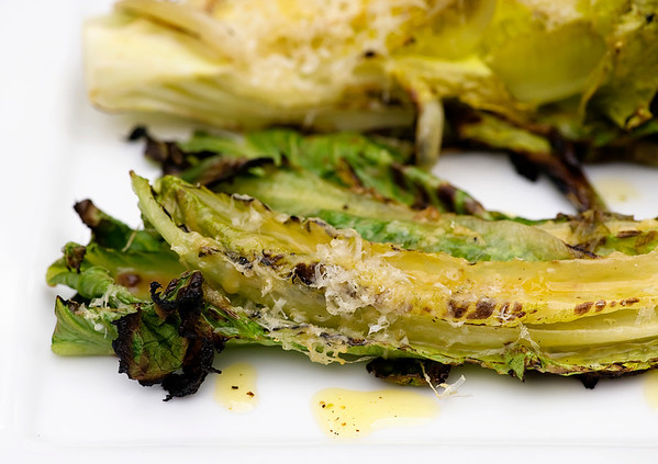 Grilled Caesar Salad