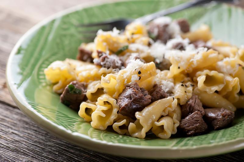 filet mignon pasta
