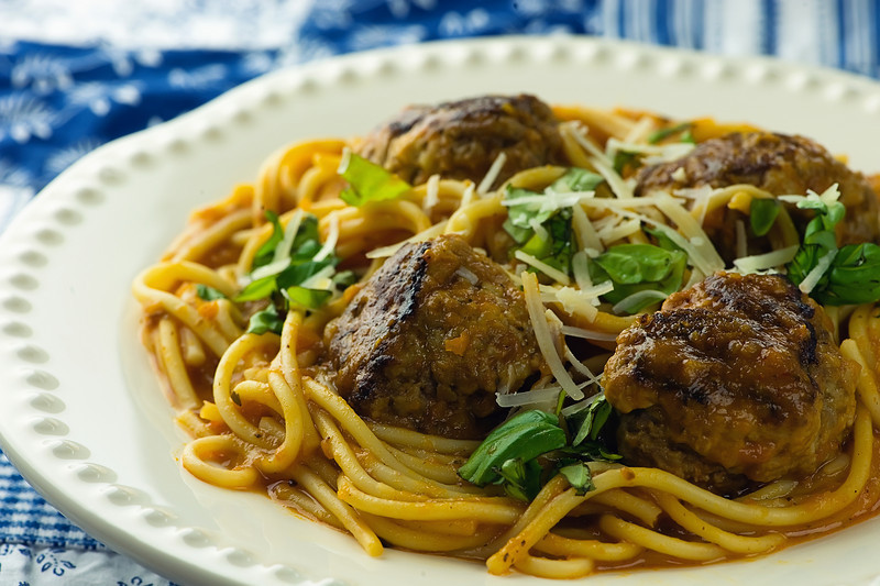 How to make spaghetti and meatballs without sauce