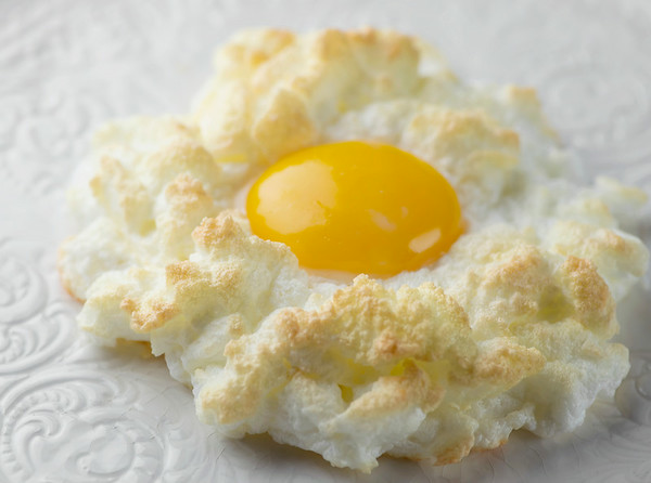 how to make eggs in clouds