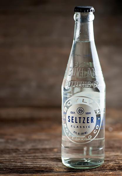 bottle of seltzer