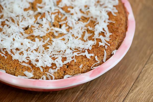 coconut pecan blender cake