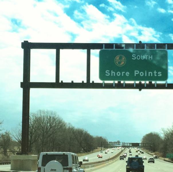 shore points sign