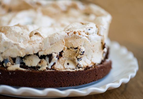 peppermint brownie cake